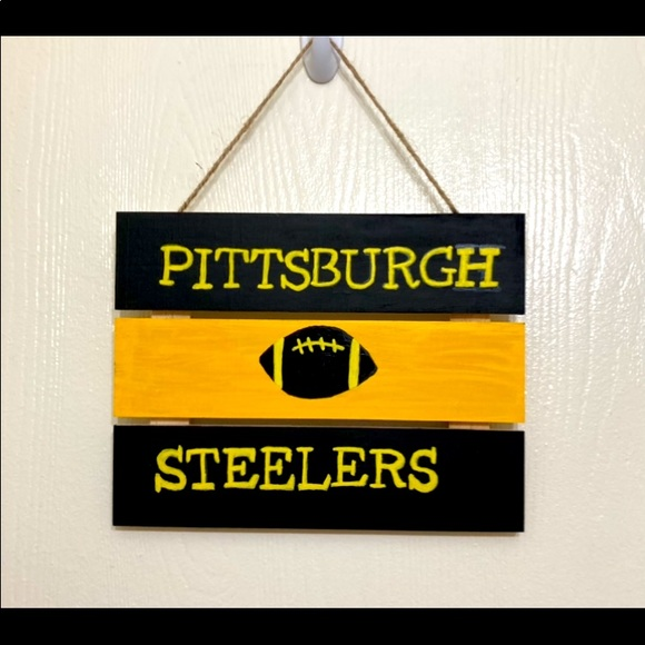 Pittsburgh Steelers sign! Made with love